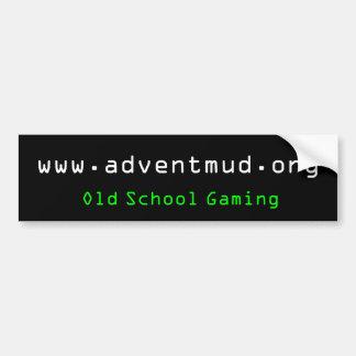 adventmud.org, Old School Gaming Bumper Sticker