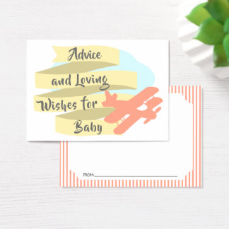 Adventure Advice Cards for Baby