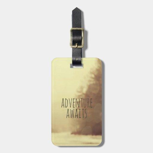 Adventure Awaits II Luggage Tag