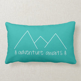 Adventure Awaits Lumbar Cushion