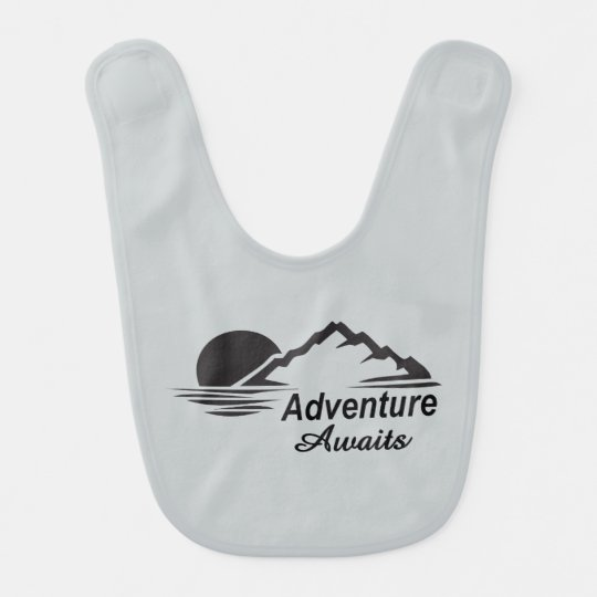 Adventure Awaits Nature Great Outdoors Baby Bibs
