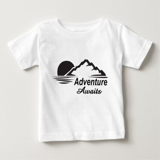 Adventure Awaits Nature Great Outdoors Baby T-Shirt