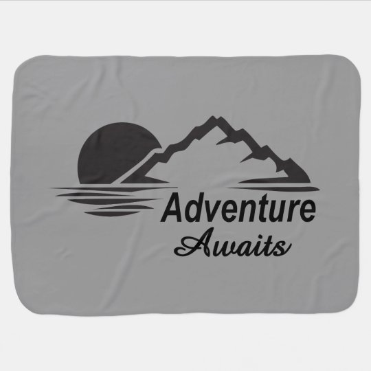 Adventure Awaits Nature Great Outdoors Buggy Blanket