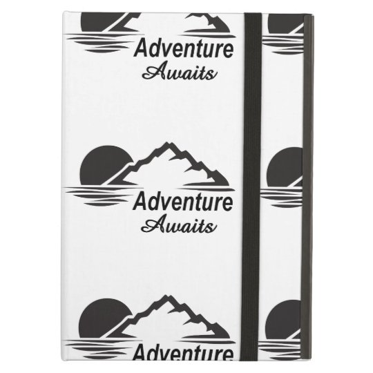 Adventure Awaits Nature Great Outdoors Case For iPad Air