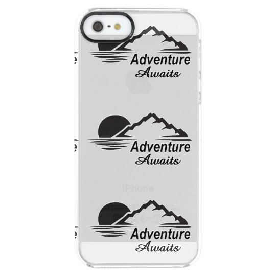 Adventure Awaits Nature Great Outdoors Clear iPhone SE/5/5s Case