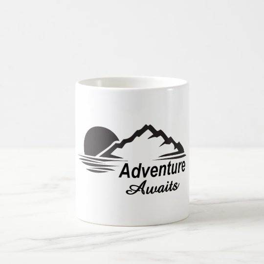 Adventure Awaits Nature Great Outdoors Coffee Mug