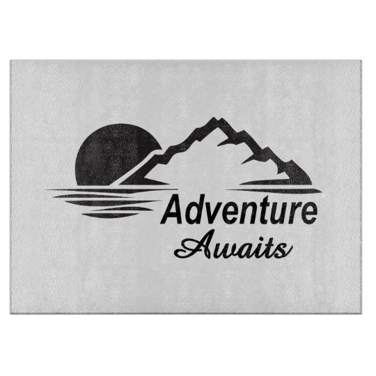 Adventure Awaits Nature Great Outdoors Cutting Boards