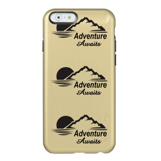 Adventure Awaits Nature Great Outdoors Incipio Feather® Shine iPhone 6 Case