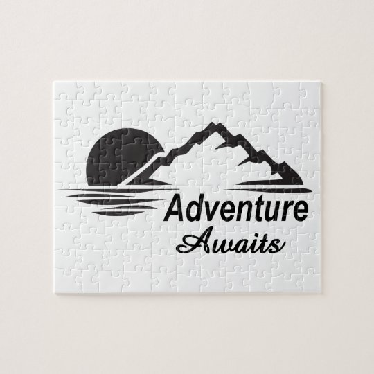 Adventure Awaits Nature Great Outdoors Jigsaw Puzzle