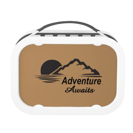 Adventure Awaits Nature Great Outdoors Lunch Box