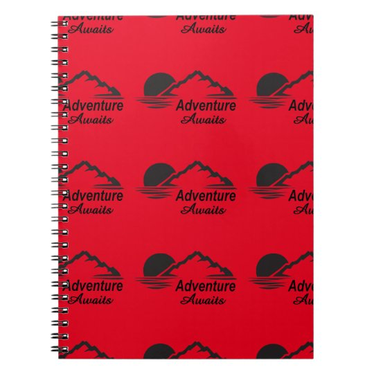 Adventure Awaits Nature Great Outdoors Notebooks