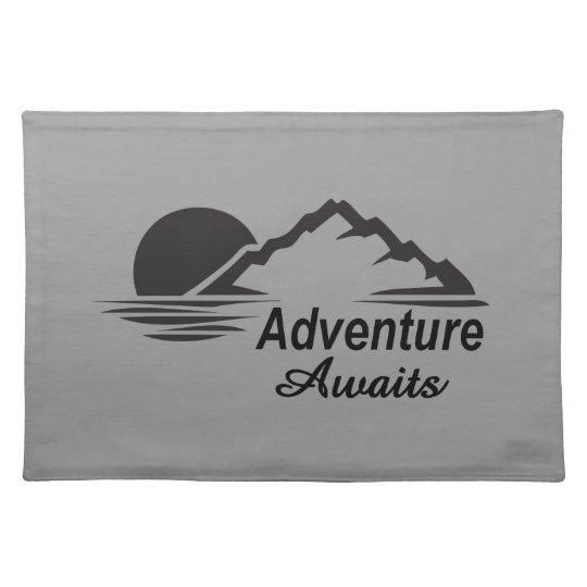 Adventure Awaits Nature Great Outdoors Placemats
