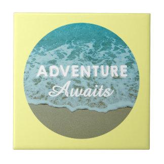 Adventure Awaits Tile