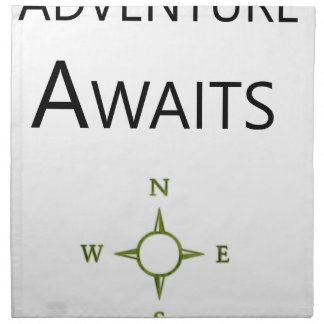 Adventure Awaits Wee One BEAUTIFUL Napkin