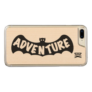 ADVENTURE BAT EMBLEM by Slipperywindow Carved iPhone 8 Plus/7 Plus Case