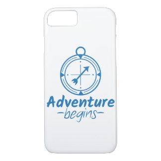 Adventure Begins iPhone 8/7 Case