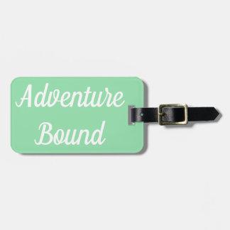 Adventure Bound Luggage Tag