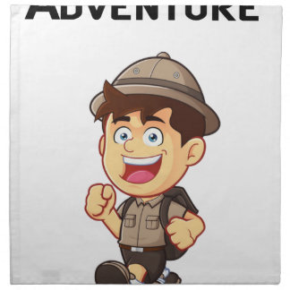 Adventure Boy Napkin