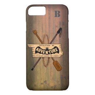 ADVENTURE CABIN by Slipperywindow iPhone 8/7 Case