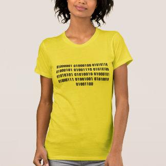 Adventure Girl in Binary Code T Shirts