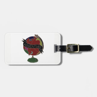 Adventure Globe Luggage Tag