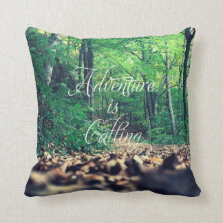 Adventure is calling cushion