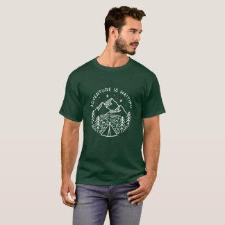 Adventure is Waiting Men's T-Shirt