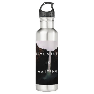 // Adventure is Waiting // Water Bottle