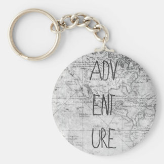 Adventure map key ring