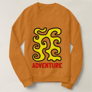 """""""Adventure"""" Men's Raglan Sweatshirt"""