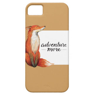 adventure more fox barely there iPhone 5 case