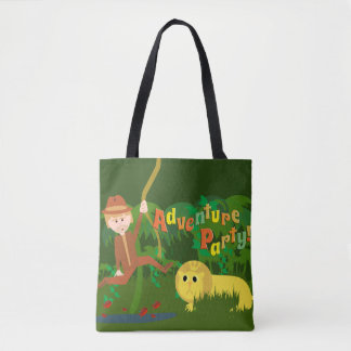 Adventure Party Tote Bag