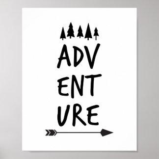 Adventure Poster Print