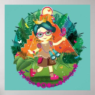 Adventure Princess Poster! Poster