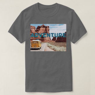Adventure Road Trip Classical Rock Outdoors Photo T-Shirt