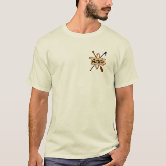 ADVENTURE TRAVEL tan by Slipperywindow T-Shirt