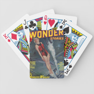 Adventure Underwater Bicycle Playing Cards