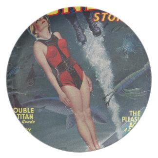 Adventure Underwater Plate