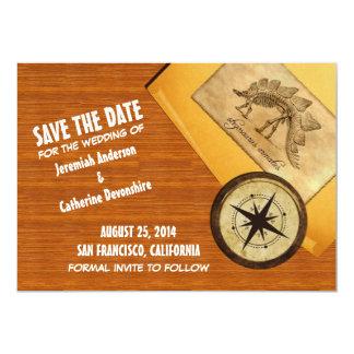 Adventure Wedding Save the Date Invite