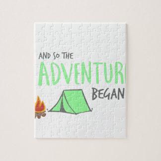 adventurebegan jigsaw puzzle