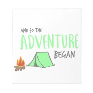 adventurebegan notepad