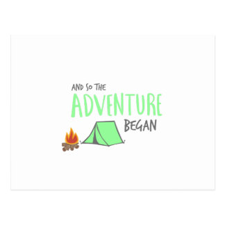 adventurebegan postcard