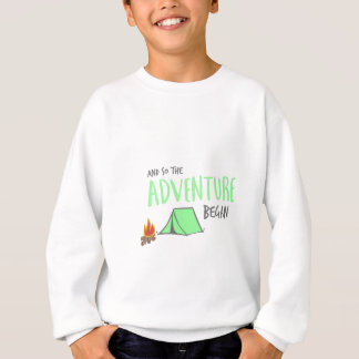 adventurebegan sweatshirt