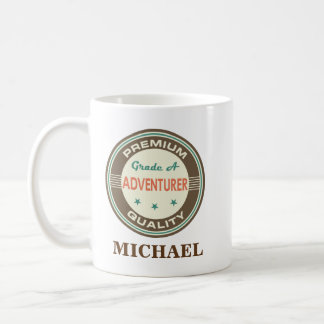 Adventurer Personalized Office Mug Gift