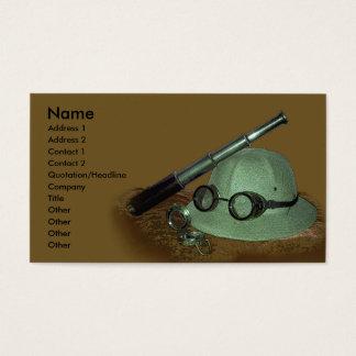 Adventurer Profile Card