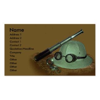 Adventurer Profile Card Business Cards