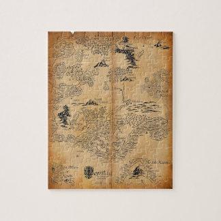 Adventurer's Map Jigsaw Puzzle