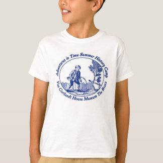 Adventures in Time Summer History Camp Tee
