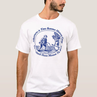 Adventures in Time Summer History Camp tee - ADULT