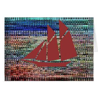 Adventures of Sindbad - Sail in Wonderland Greeting Card